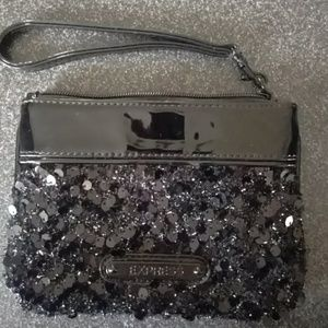 Black sequence Express wristlet..never used